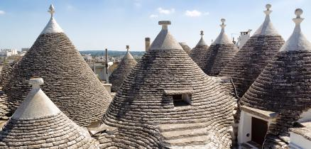 Trulli – the stone witches' hats on the hill