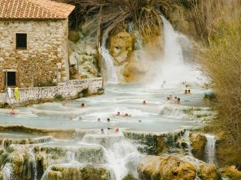The Tuscan Roman spas – heroes of R&R
