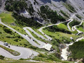 One of the world's most exciting roads