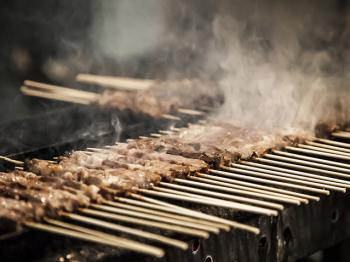 Arrosticini – Abruzzo's barbecue specialty