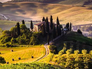 Tuscan towns in the movies