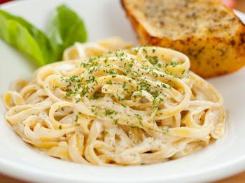 The fettuccine Alfredo fiction