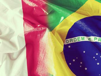 Italy and Brazil: united in a passion for soccer