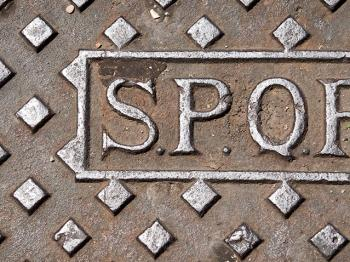 SPQR - Four letters you'll see all over Rome