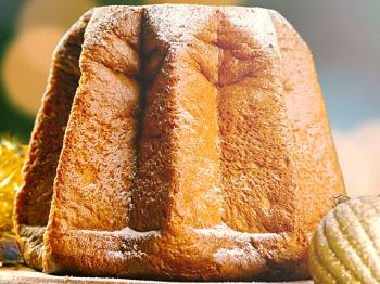 Pandoro, the other Italian yuletide cake